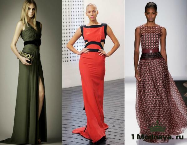 Модные платья 2015 фото популярных образов