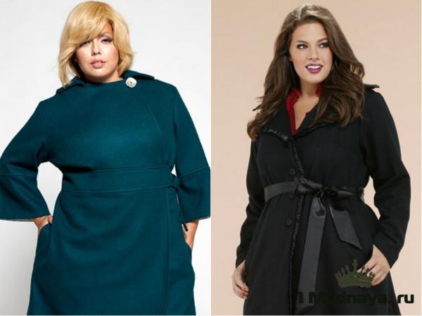 Стильные предметы гардероба для полных женщин