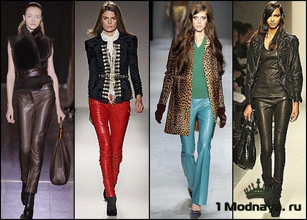 модные цвета брюк для женщин
