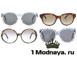 модные очки солнцезащитные 2015