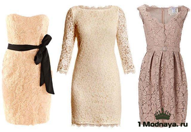 Фото и модели гипюровых платьев