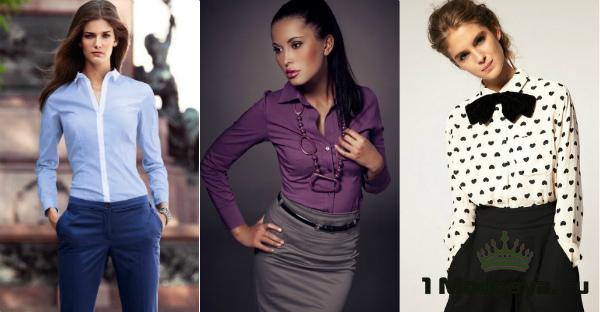 модные рубашки женские 2015 фото