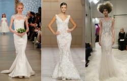 свадебные платья 2015 тренды фото