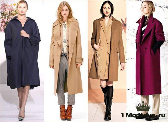 пальто осень-зима 2015-2016 фото