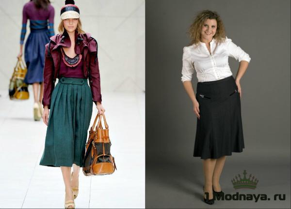 Юбки для женщин 50 лет