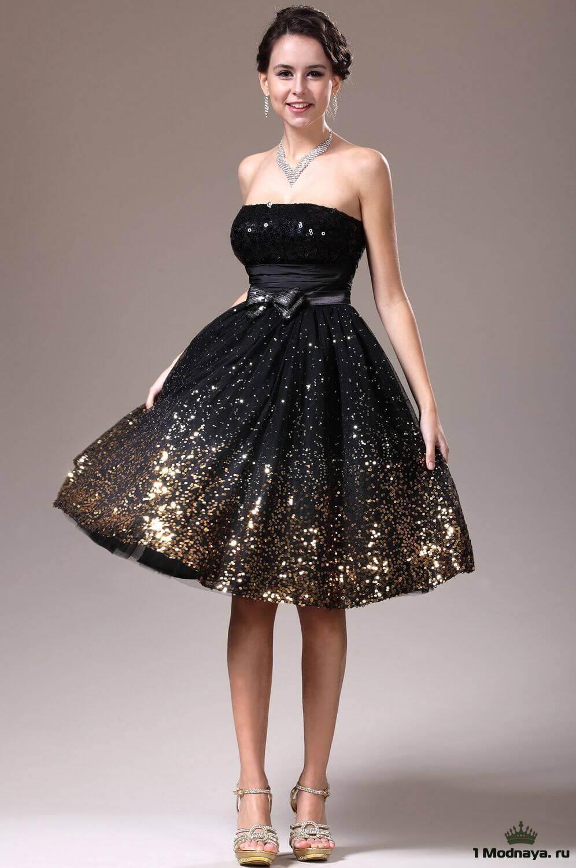 Купить Платье С Пышной Юбкой