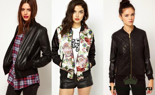 модные кожаные куртки 2016 женские фото