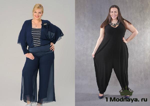 юбка брюки для полных женщин фото