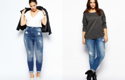 джинсы бойфренды на полных девушках фото