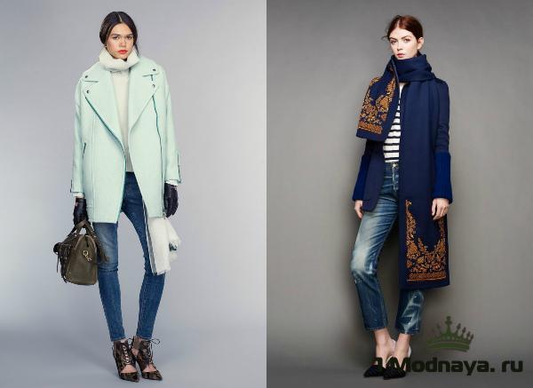 модные джинсы осень зима 2016 2017 женские фото