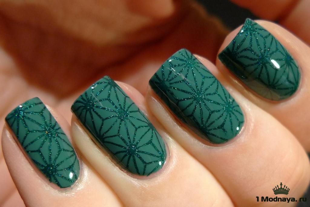Дизайн ногтей с рисунком. Идеи на 2018 год