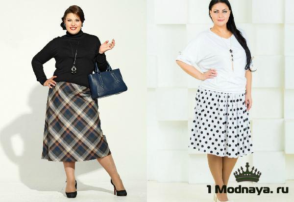 Длинные юбки для женщин с животом