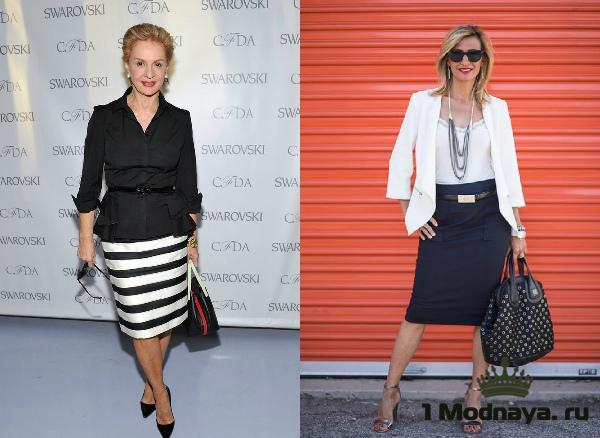 юбки для женщин после 50 лет фото