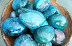камень хризоколла фото свойства и значение для человека