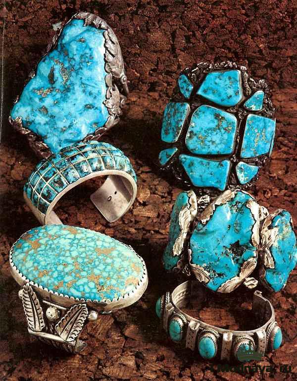 turquoise Southwestern jewelry  Native American Language