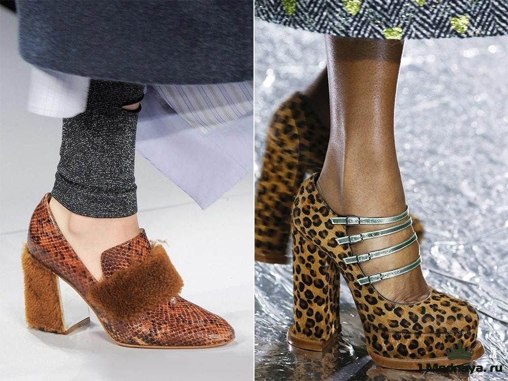 модные туфли 2017 фото женские тренды