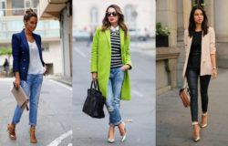 женские пиджаки с джинсами фото